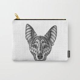 Ornate Australian Kelpie Carry-All Pouch