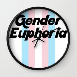 GENDER EUPHORIA Wall Clock
