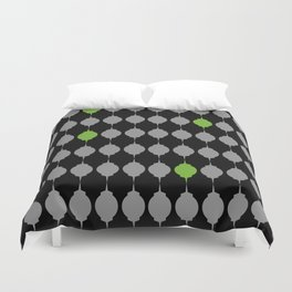 Green Lanterns Duvet Cover