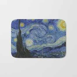 The Starry Night Badematte