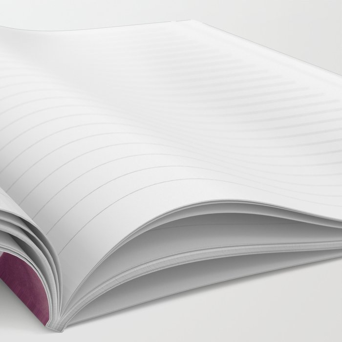Amethyst Quartz Notebook