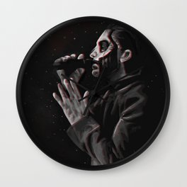 We're standing here by the abyss Wall Clock