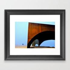 Thought of De Chirico Framed Art Print