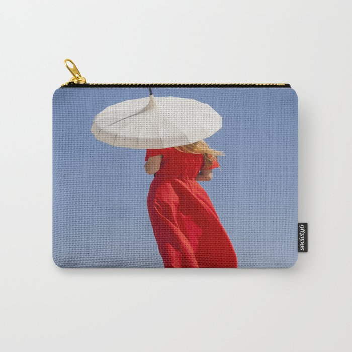 Lady in Red II Carry-All Pouch