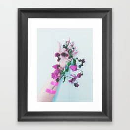 everything is more beautiful because we are doomed Framed Art Print