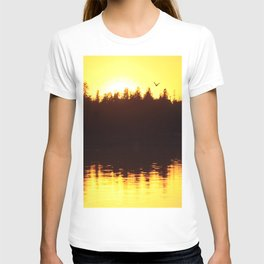 Abstract Sunset 2 T-shirt