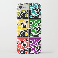 maori iPhone & iPod Cases featuring Maori Kowhaiwhai Pattern by mailboxdisco
