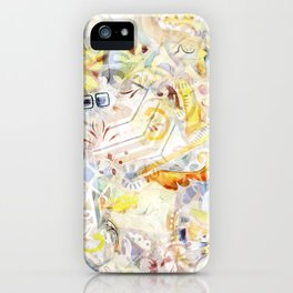 Mosaic of Barcelona XI iPhone Case
