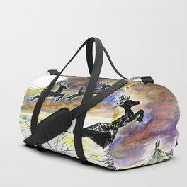 Santa Night Flight Duffle Bag