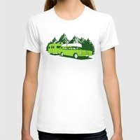 camping T-shirts featuring Camping trip by Grilldress