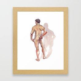 RENATO JR, Nude Male by Frank-Joseph Framed Art Print