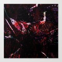 dark souls Canvas Prints featuring SOULS by La Belle Noire