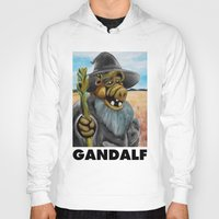 gandalf Hoodies featuring GANDALF by i live