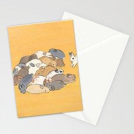 Rabbit Stack Stationery Cards