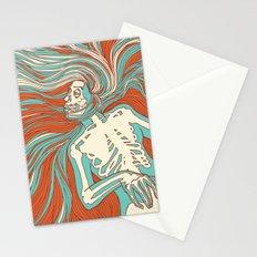 Skeleton Girl Stationery Cards