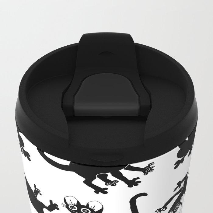 4cats Metal Travel Mug