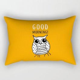 Funny owl Rectangular Pillow