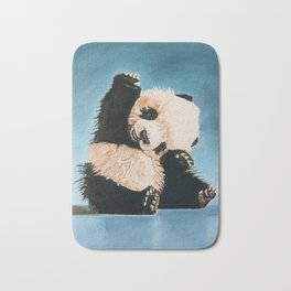 baby panda Bath Mat