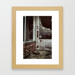 {another time, another town} Framed Art Print