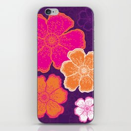 Wilder Poppies iPhone Skin