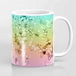 Rainbow Stars Glitter #1 #shiny #decor #art #society6 Coffee Mug