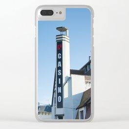 Casino Le Touquet Clear iPhone Case