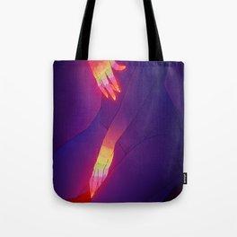 Glowing Hands 3 Tote Bag