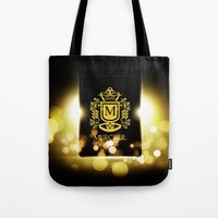 logo Tote Bags featuring Logo by Azeez Olayinka Gloriousclick