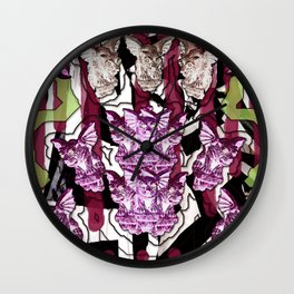 Gargoyle Gala Wall Clock