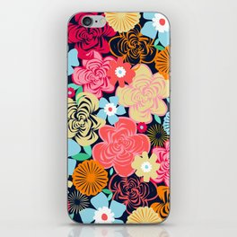 Evening Floral iPhone Skin
