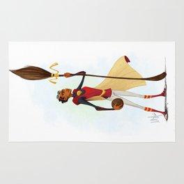 Angelina Johnson - Quidditch Captain Rug