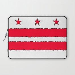 Fancy Flag: Washington, DC    District of Columbia Laptop Sleeve