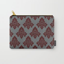 The Grand Royale (Red on Grey) Carry-All Pouch