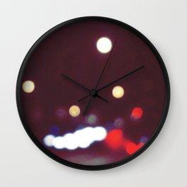 Car Lights Wall Clock