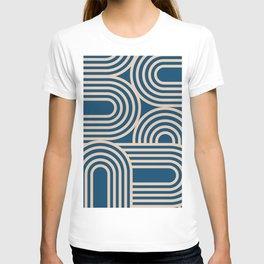Abstraction_WAVE_GRAPHIC_VISUAL_ART_Minimalism_001 T-shirt