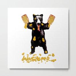 Honey Bear Metal Print