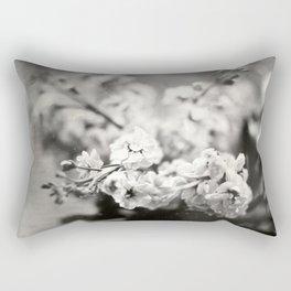 Flower Bouquet Tintype Rectangular Pillow