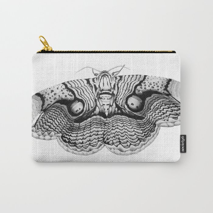 Brahmin Moth Carry-All Pouch