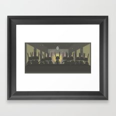 THE LAST  SUPPER [Leonardo Paul Pierro-vinci ] - IN THE NAME OF RABBIT Framed Art Print