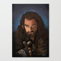 thorin Canvas Prints featuring Thorin by Arkady