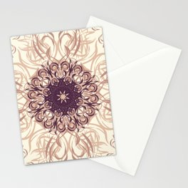 Rose Gold Flourish Stationery Cards