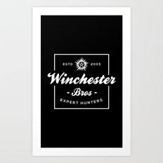 Winchester Bros - Expert Hunters Art Print