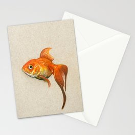 """""""Goldie"""" Stationery Cards"""