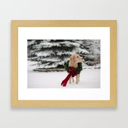 Christmas is coming! Framed Art Print