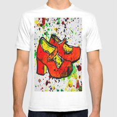 Shoe-Be-Do 1 White Mens Fitted Tee MEDIUM
