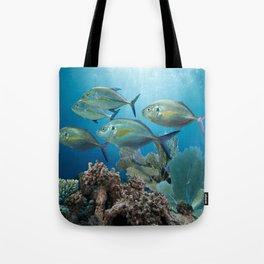 Bluefin Trevally Tote Bag