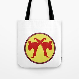The Fighter's Sparring Tshirt Design SPARRING BETTER THAN THERAPY Tote Bag