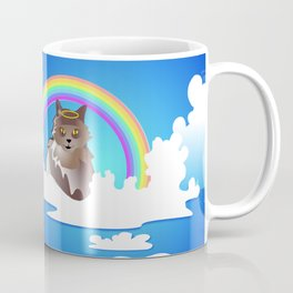 Momma Kitty & Rainbow Bridge Coffee Mug