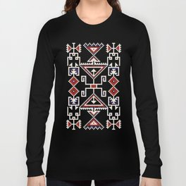 Native American Navajo pattern Long Sleeve T-shirt
