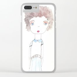 Donna Clear iPhone Case